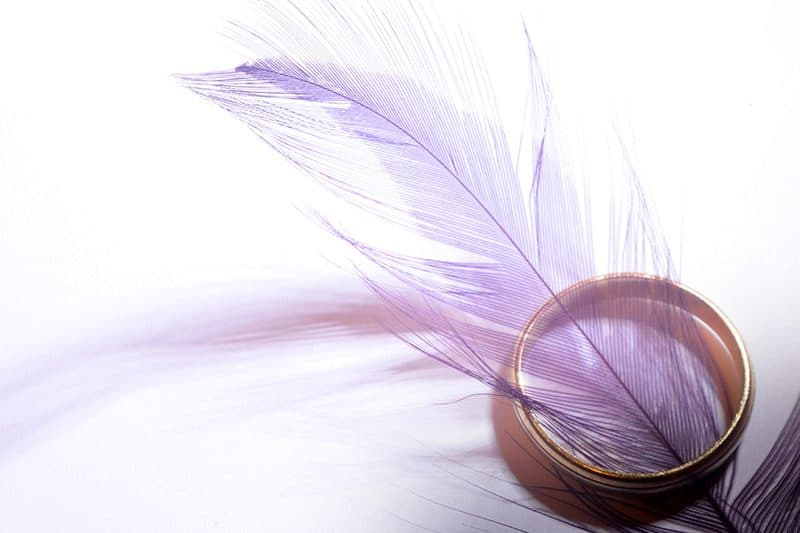 Feather and ring
