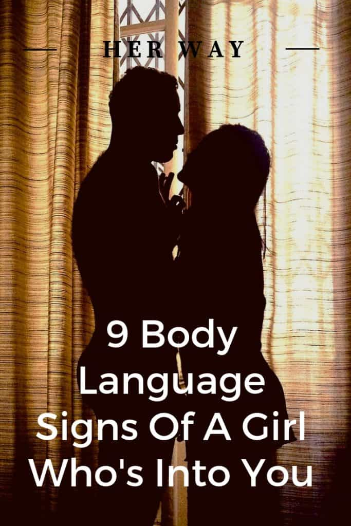 9 Body Language Signs Of A Girl Who's Into You