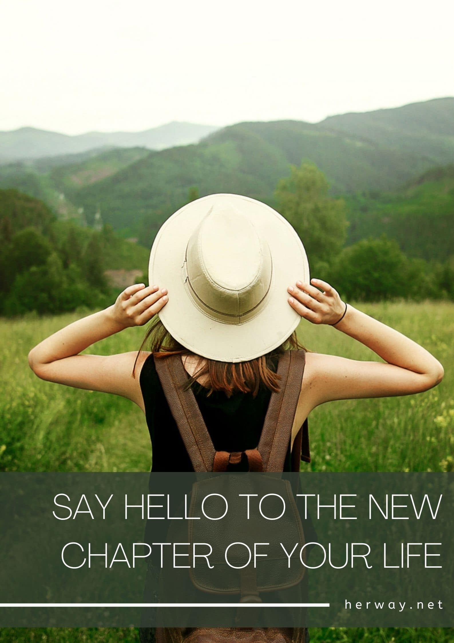 Say Hello To The New Chapter Of Your Life