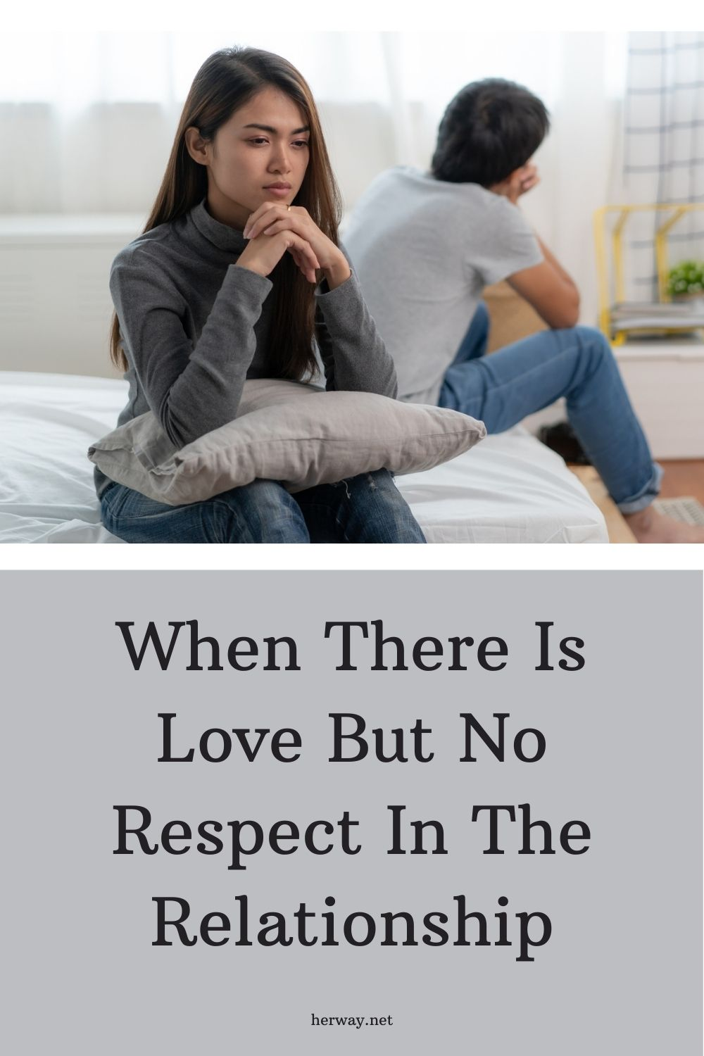When There Is Love But No Respect In The Relationship
