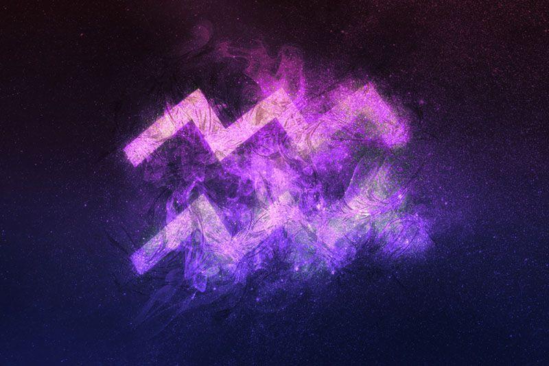 Zodiac sign of Aquarius