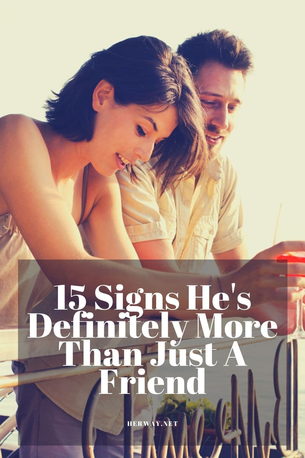 15 Signs He's Definitely More Than Just A Friend