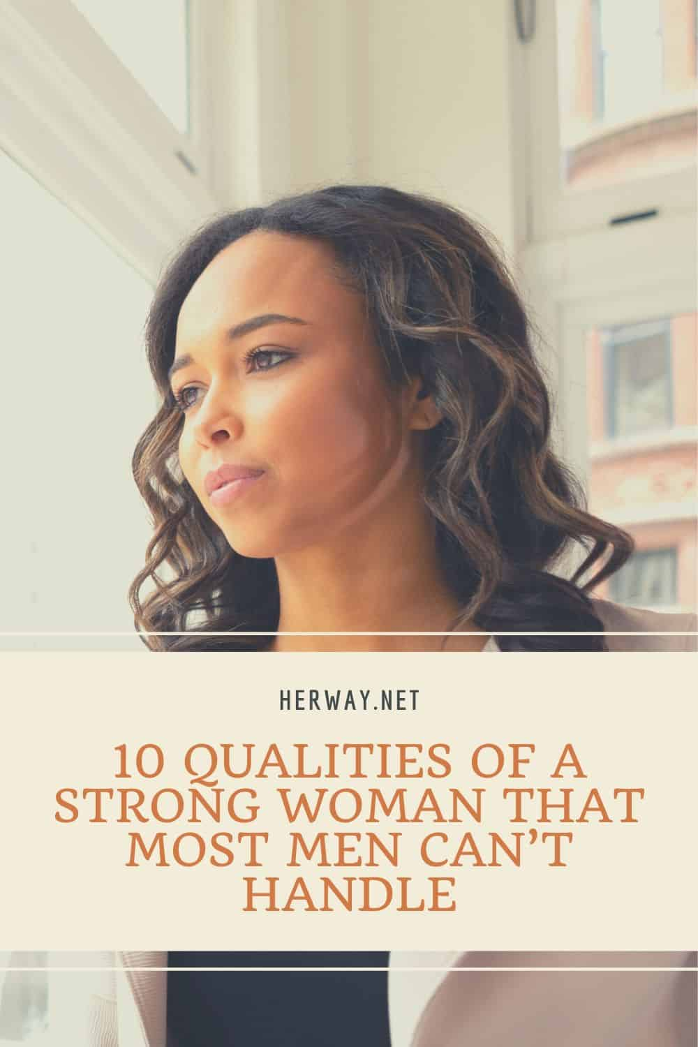 10 QUALITIES OF A STRONG WOMAN