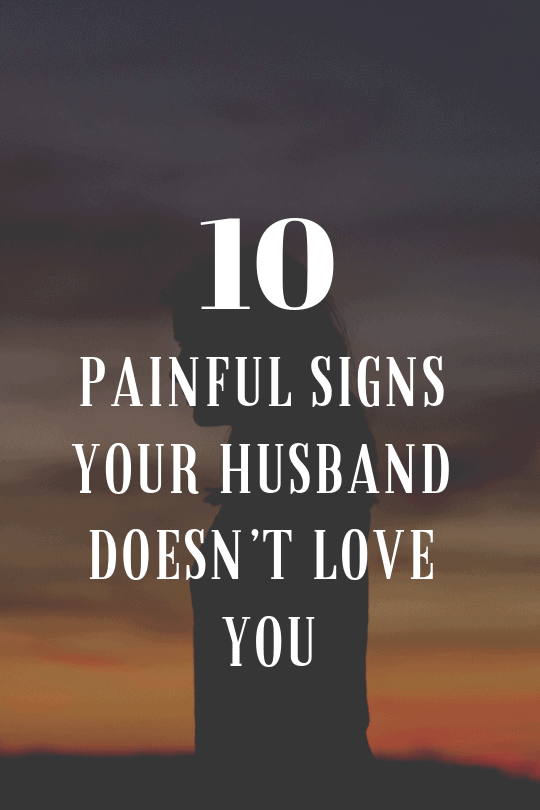 what to do when husband no longer loves you