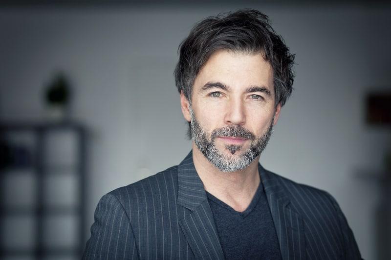 mature bearded man