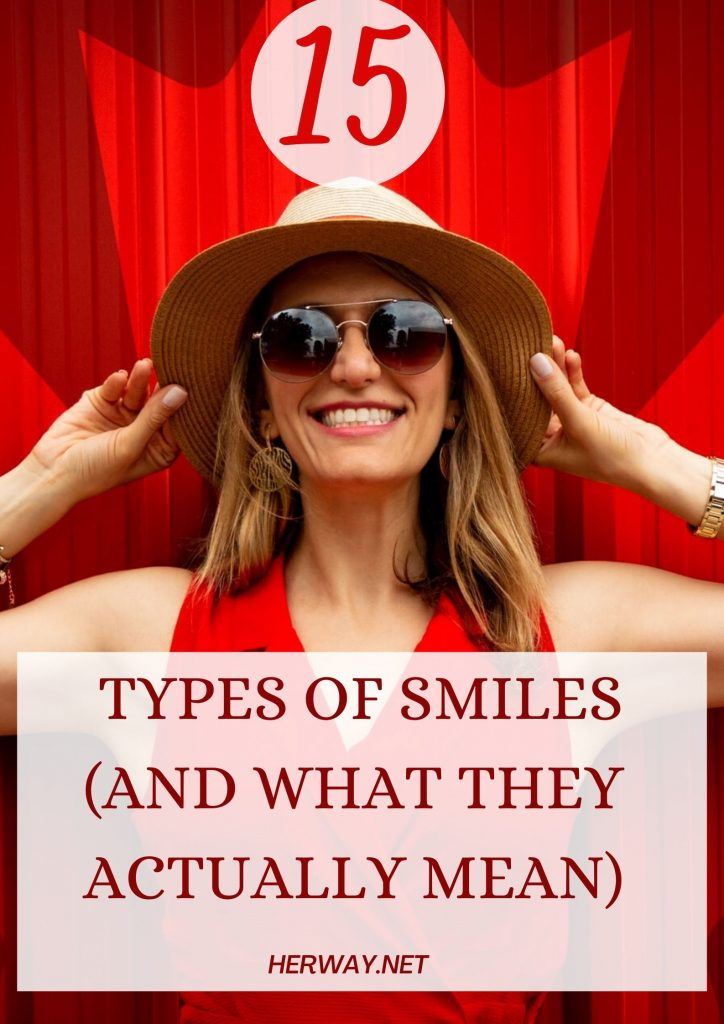 15 Types Of Smiles (And What They Actually Mean)