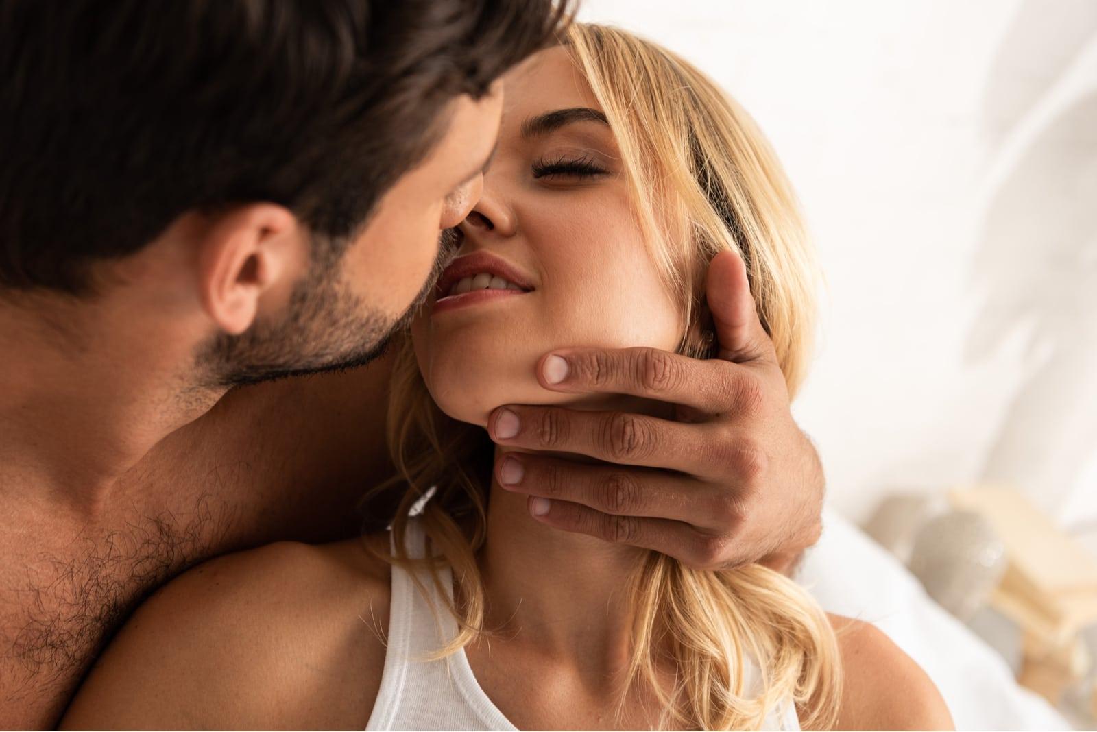 a man loves a woman
