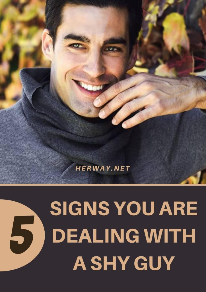 5 Signs You Are Dealing With A Shy Guy