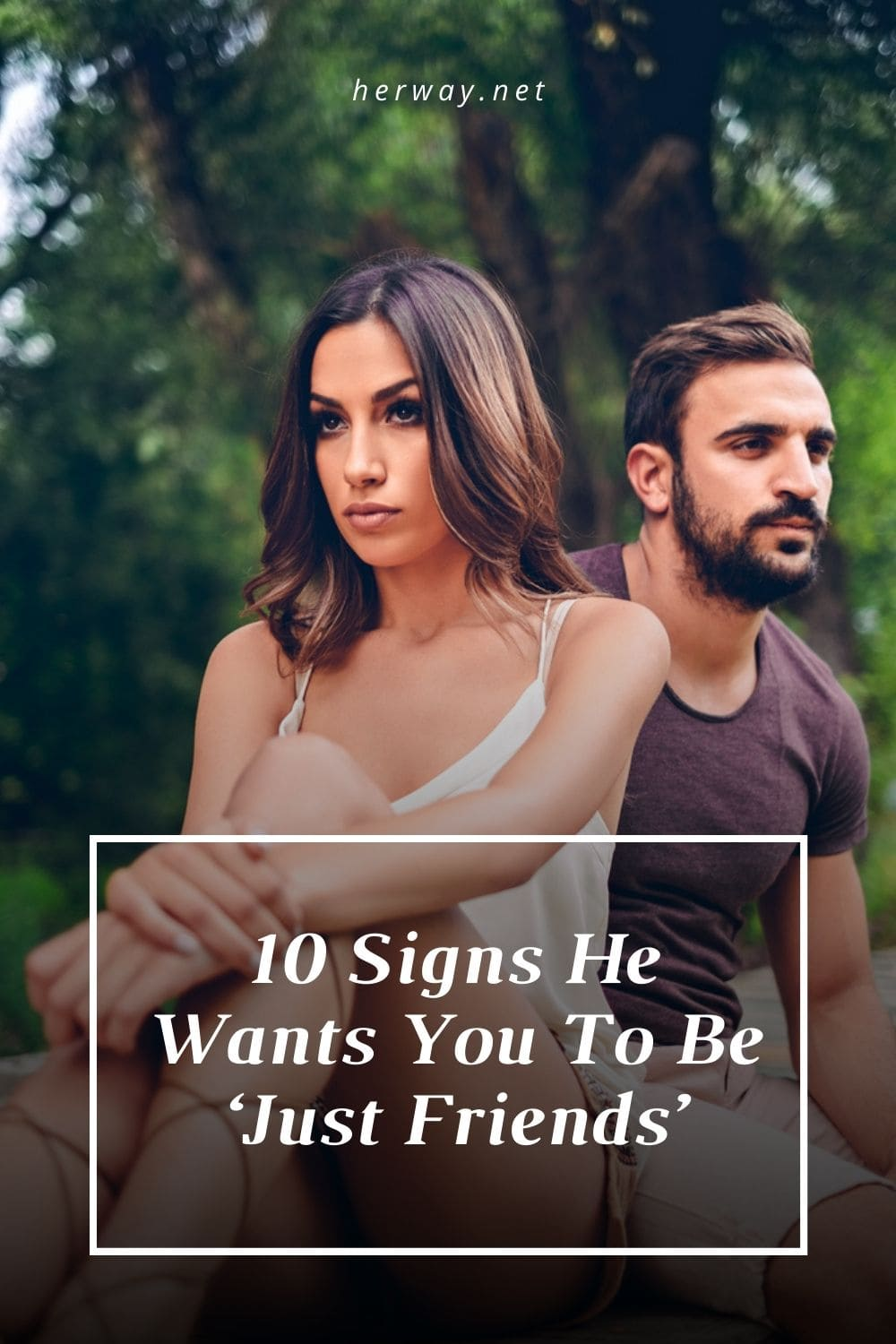 10 Signs He Wants You To Be 'Just Friends'
