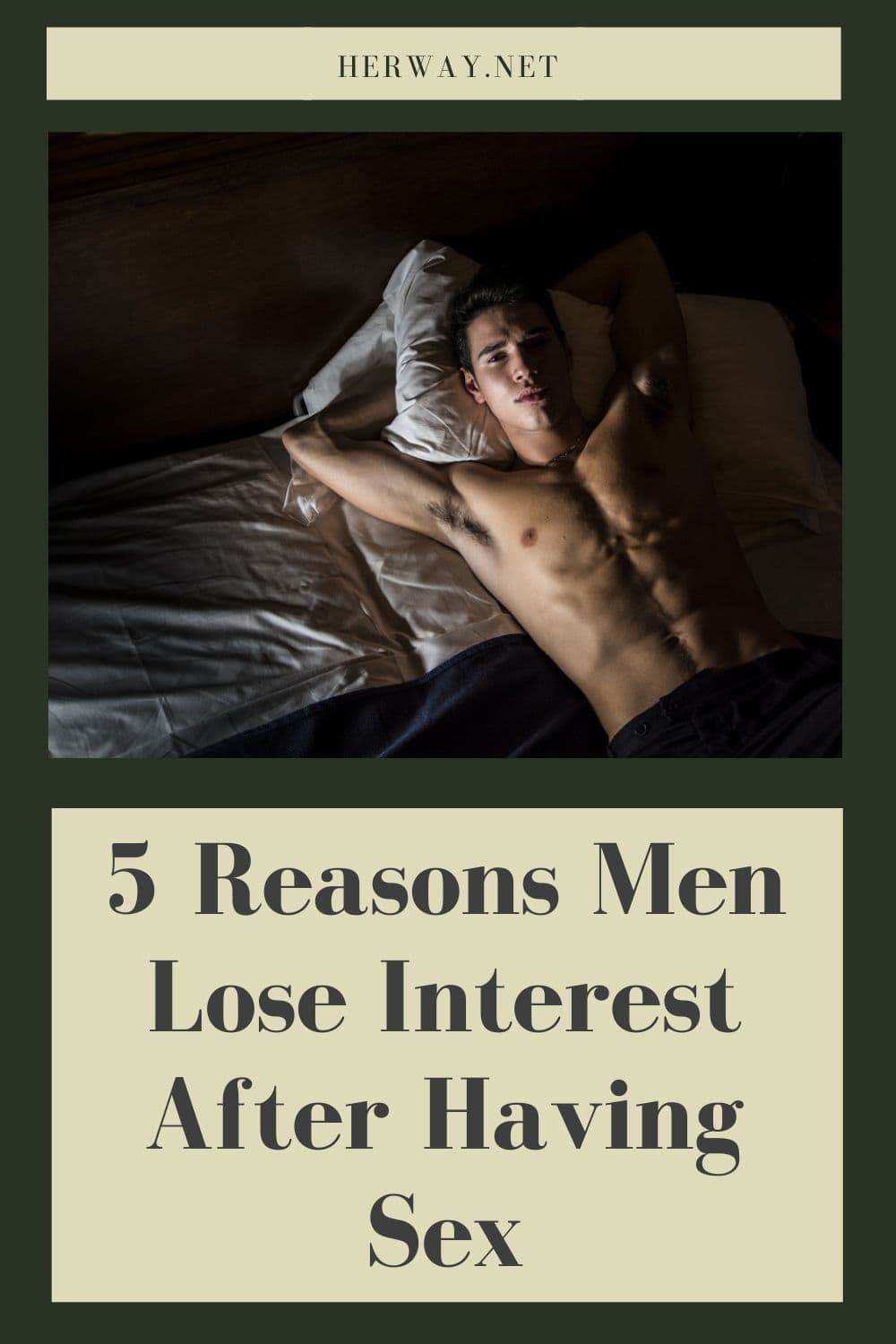 5 Reasons Men Lose Interest After Having Sex
