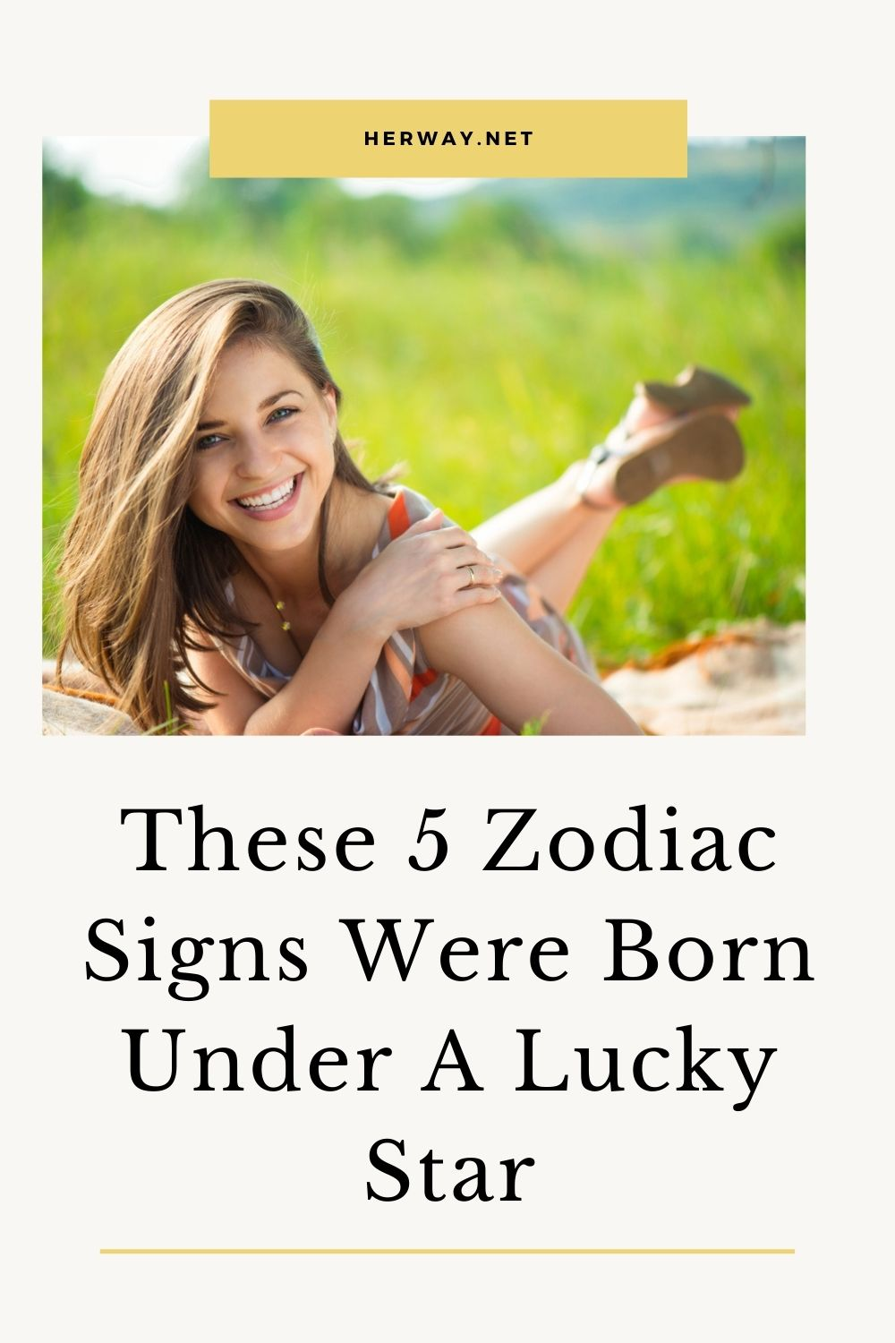These 5 Zodiac Signs Were Born Under A Lucky Star