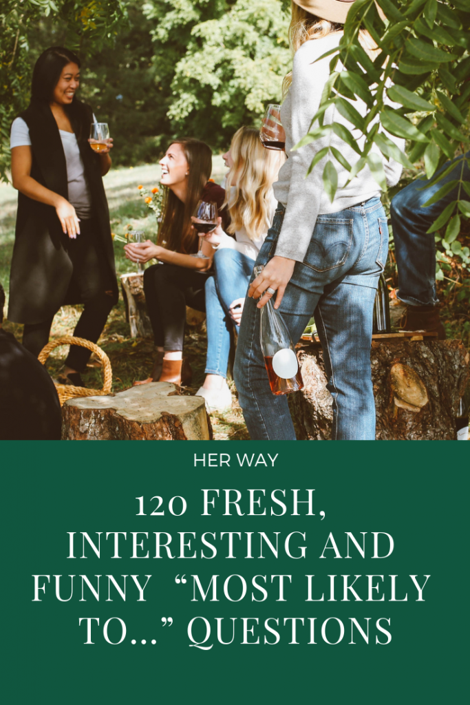 """120 Fresh, Interesting And Funny """"Most Likely To…"""" Questions"""