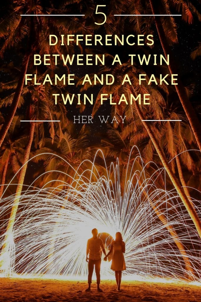 5 Differences Between A Twin Flame And A Fake Twin Flame