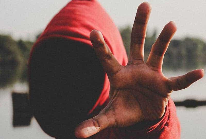 close up photo of man hand