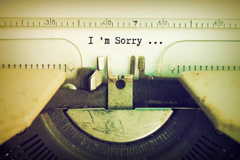 100 \'I Am Sorry\' Quotes For Her & Him To Make Your Loved One ...