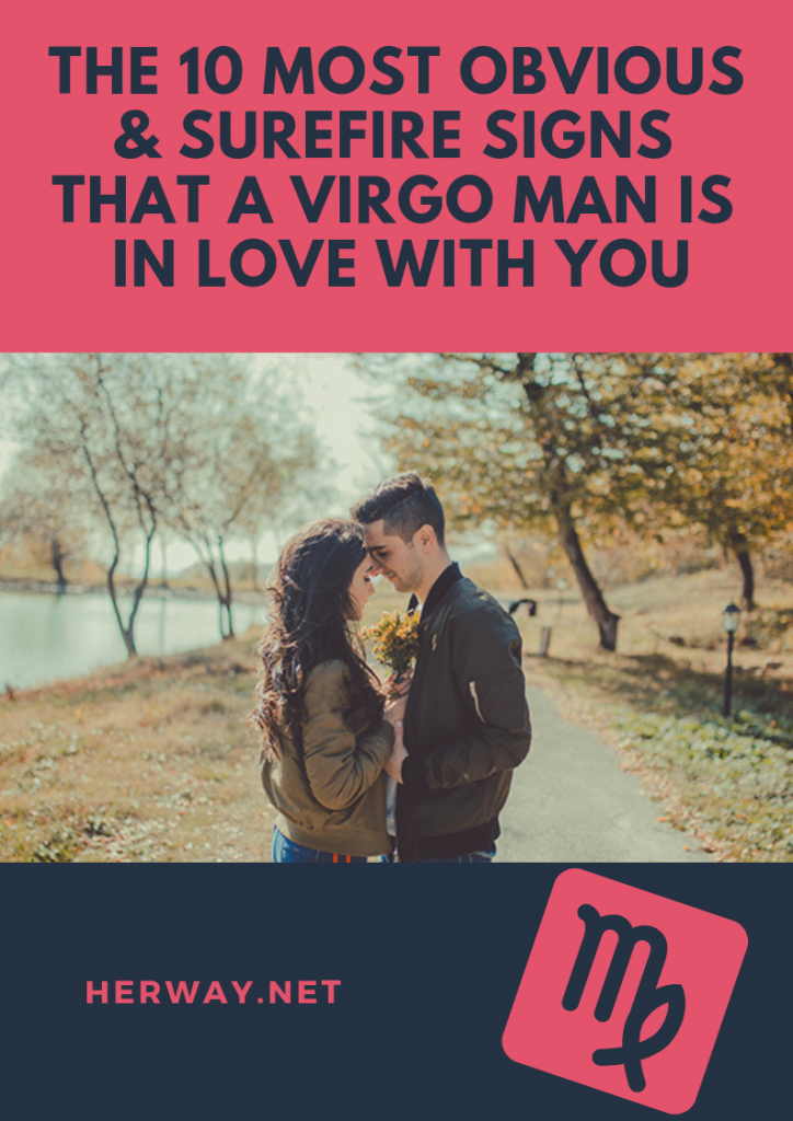 The 10 Most Obvious & Surefire Signs That A Virgo Man Is In Love With You