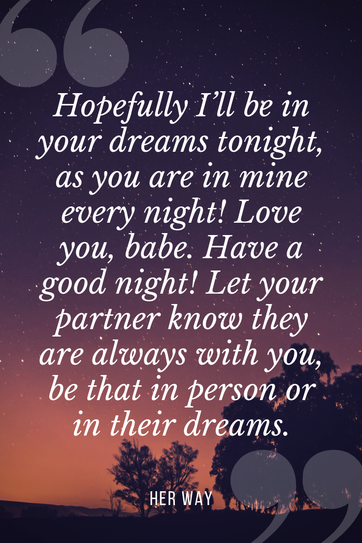 50 Cute Long Goodnight Texts For Her Naturesimagesart