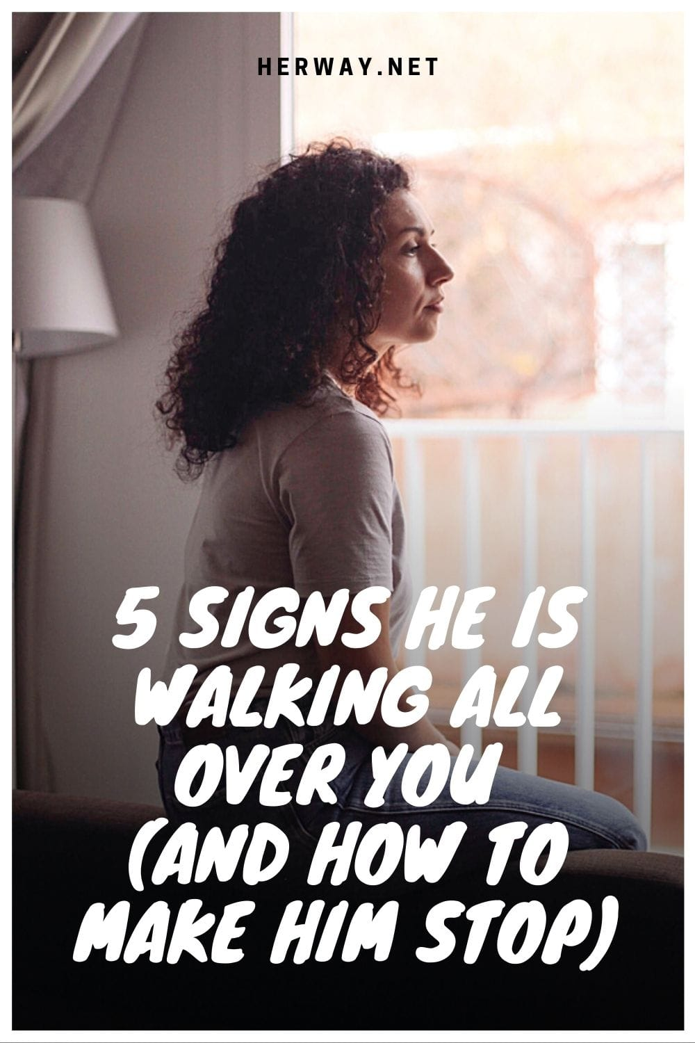 5 Signs He Is Walking All Over You (And How To Make Him Stop)