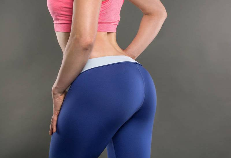 fitness woman in leggings