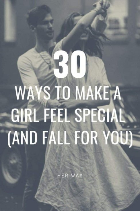 Things to say to make a woman feel special