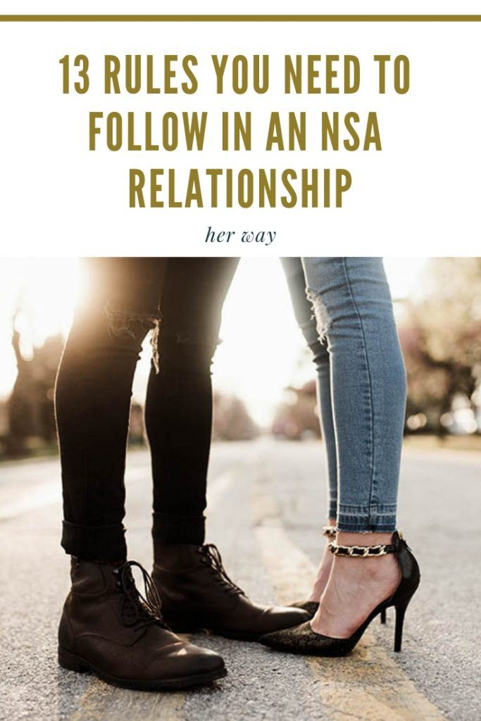 13 Rules You Need To Follow In An NSA Relationship