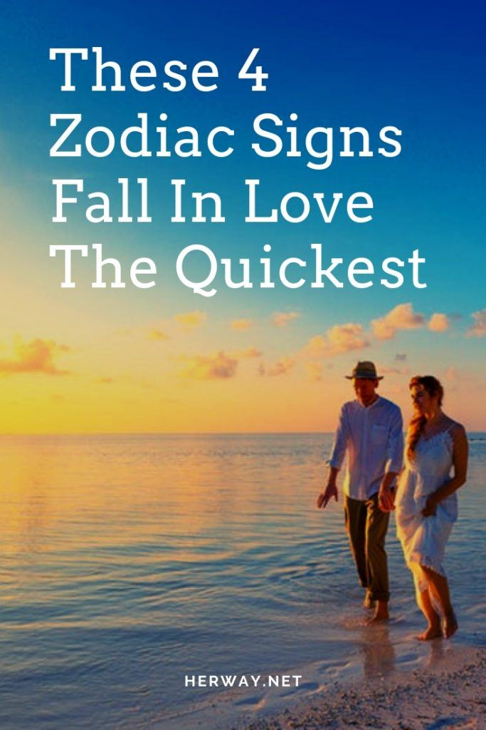 These 4 Zodiac Signs Fall In Love The Quickest