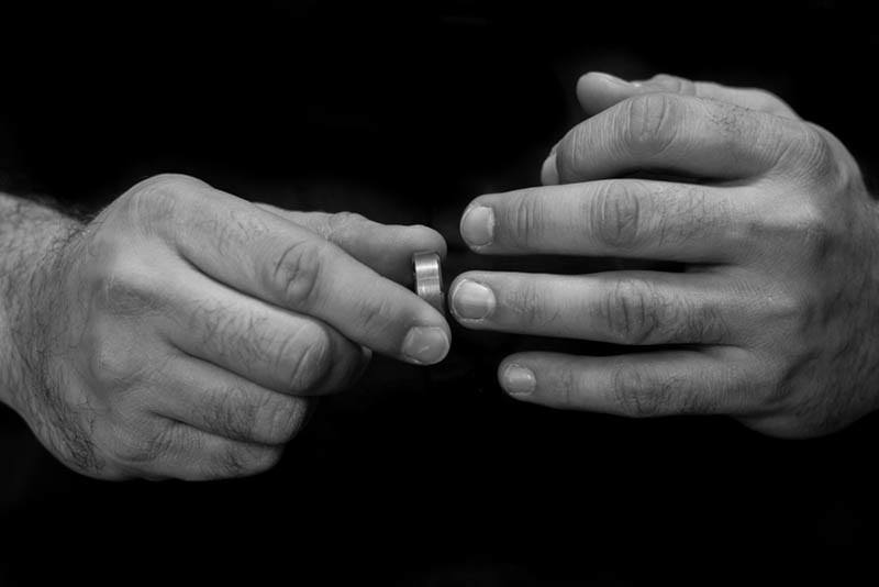 close up photo of man hands with ring