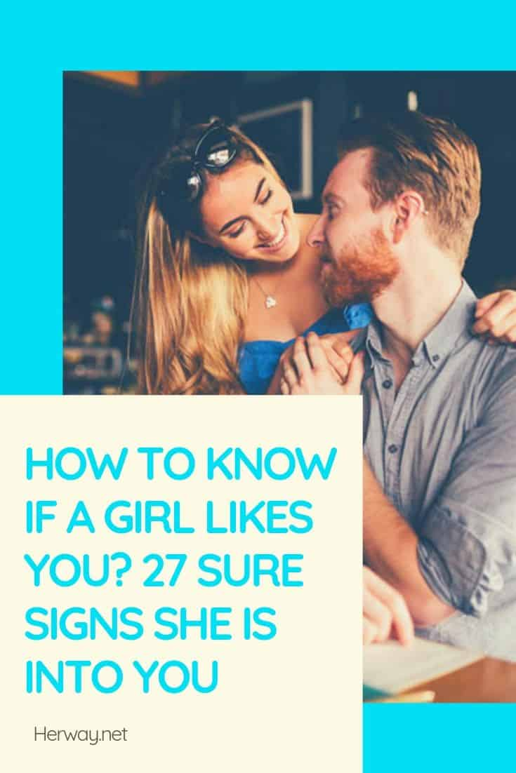 Hot to tell if a girl likes you — photo 7