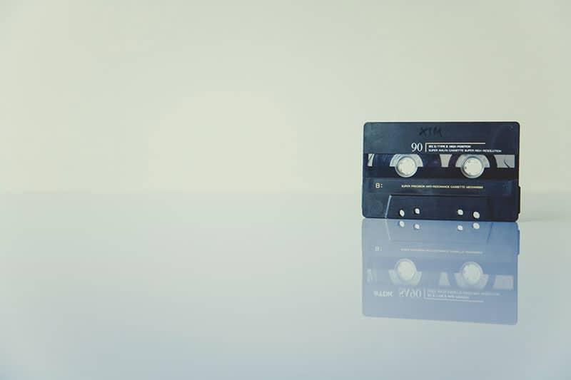 old casette tape