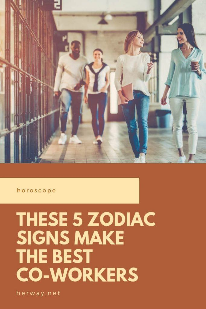 These 5 Zodiac Signs Make The Best Co-Workers
