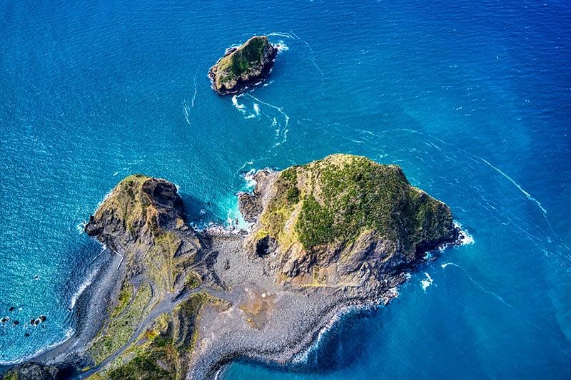 small island in the sea