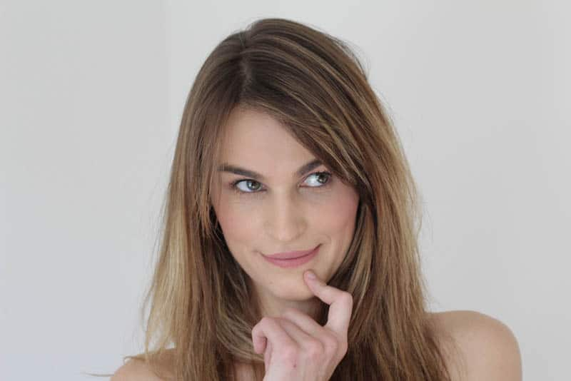 woman having idea