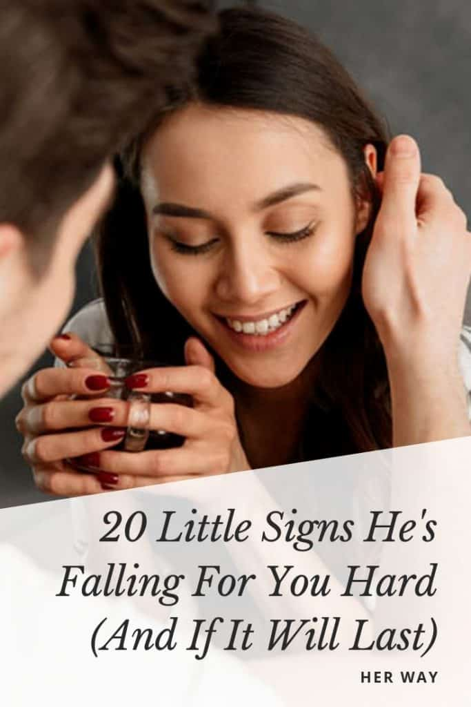 20 Little Signs He's Falling For You Hard (And If It Will Last)