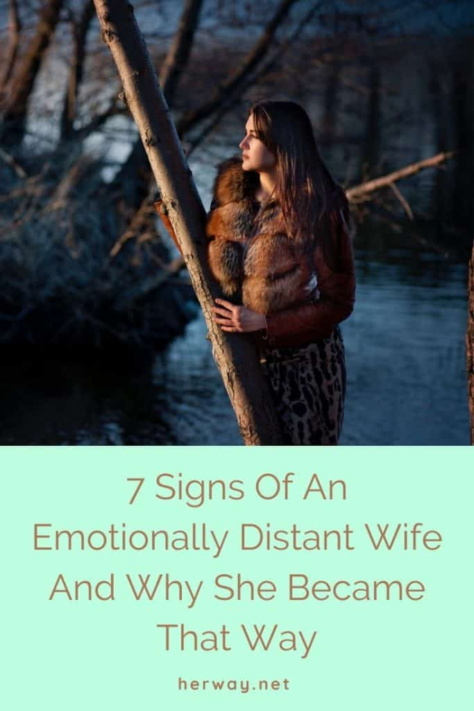 7 Signs Of An Emotionally Distant Wife And Why She Became That Way