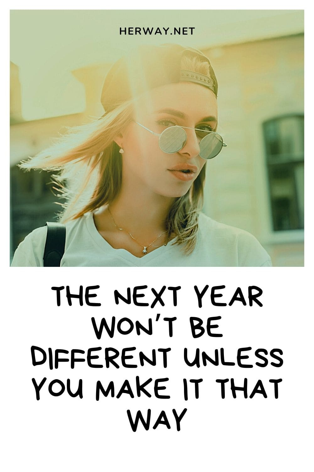 The Next Year Won't Be Different Unless You Make It That Way