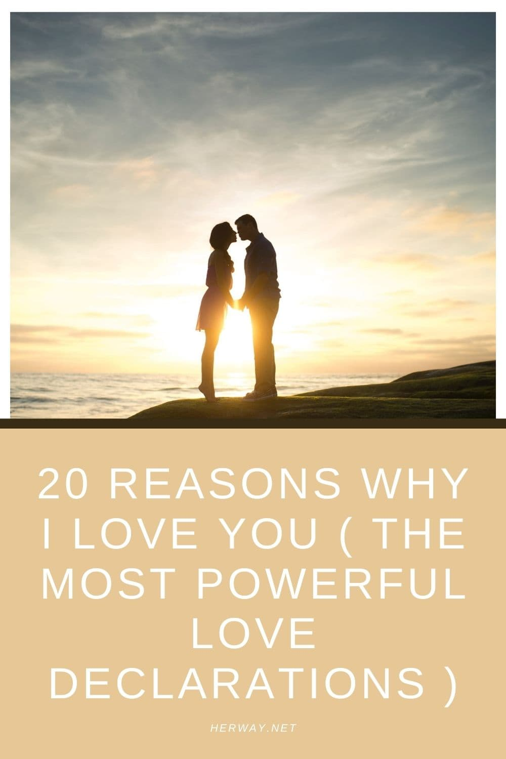 20 Reasons Why I Love You ( The Most Powerful Love Declarations )