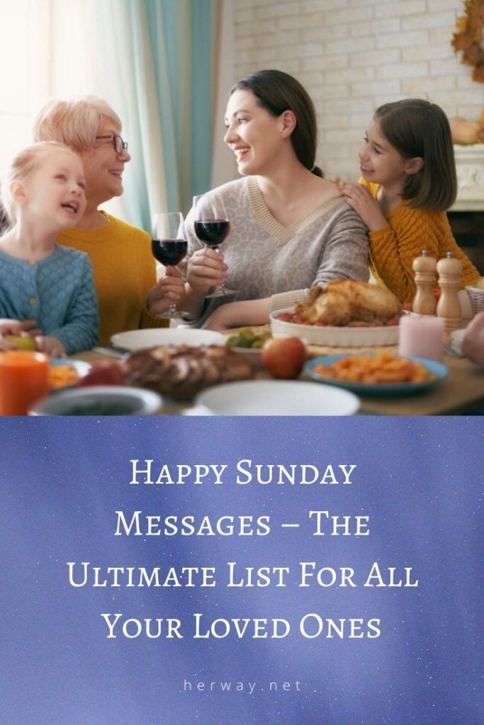 Happy Sunday Messages – The Ultimate List For All Your Loved Ones