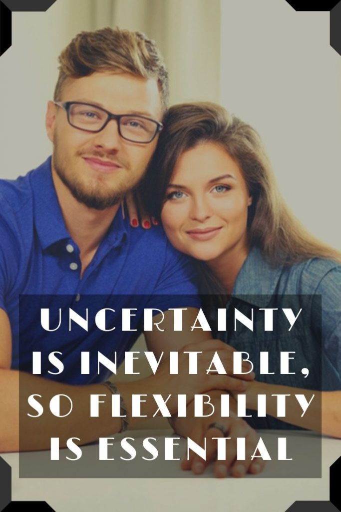 Uncertainty Is Inevitable, So Flexibility Is Essential