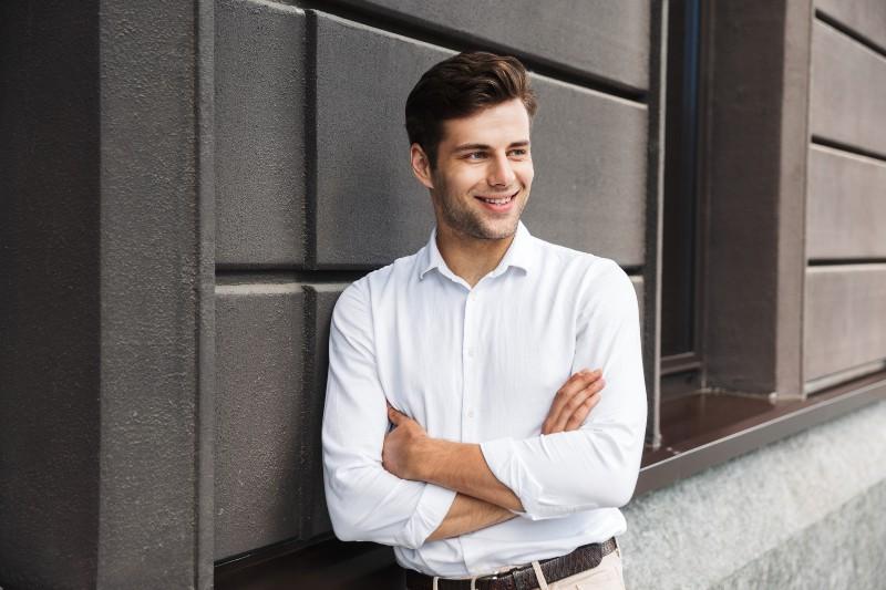 Guy in white shirt