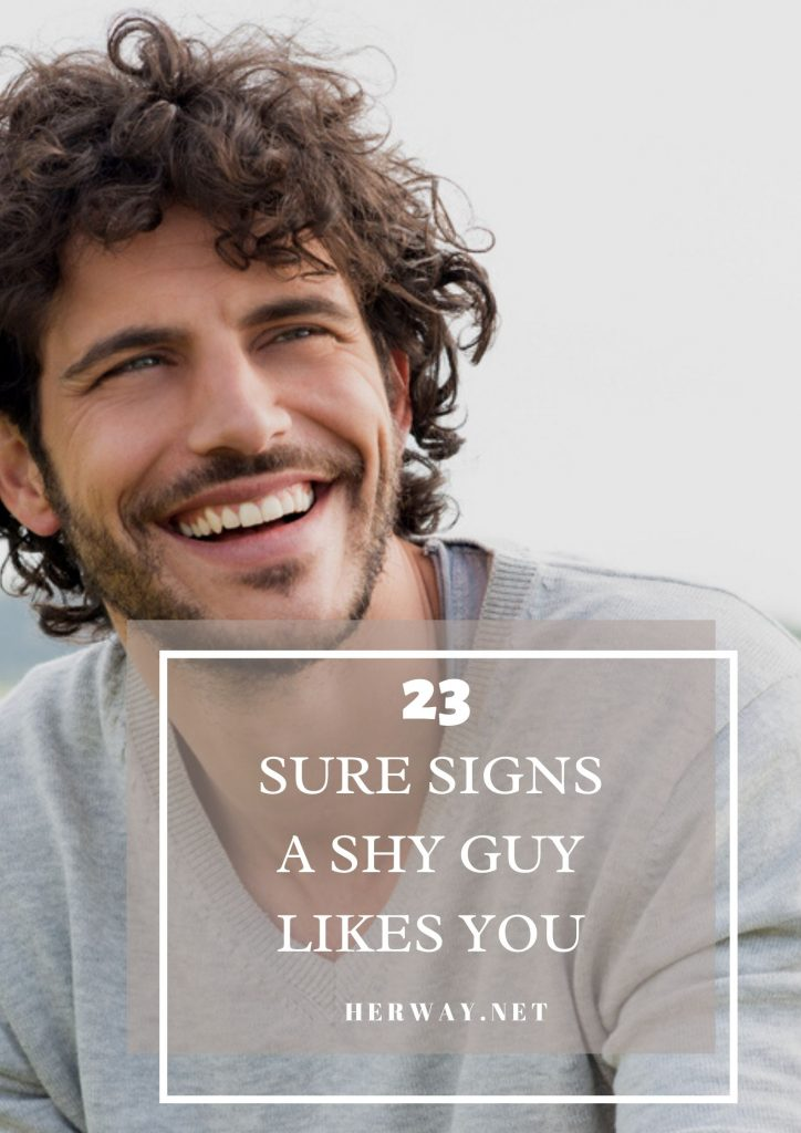 23 Sure Signs A Shy Guy Likes You (And 10 Tips To Help Him Open Up)