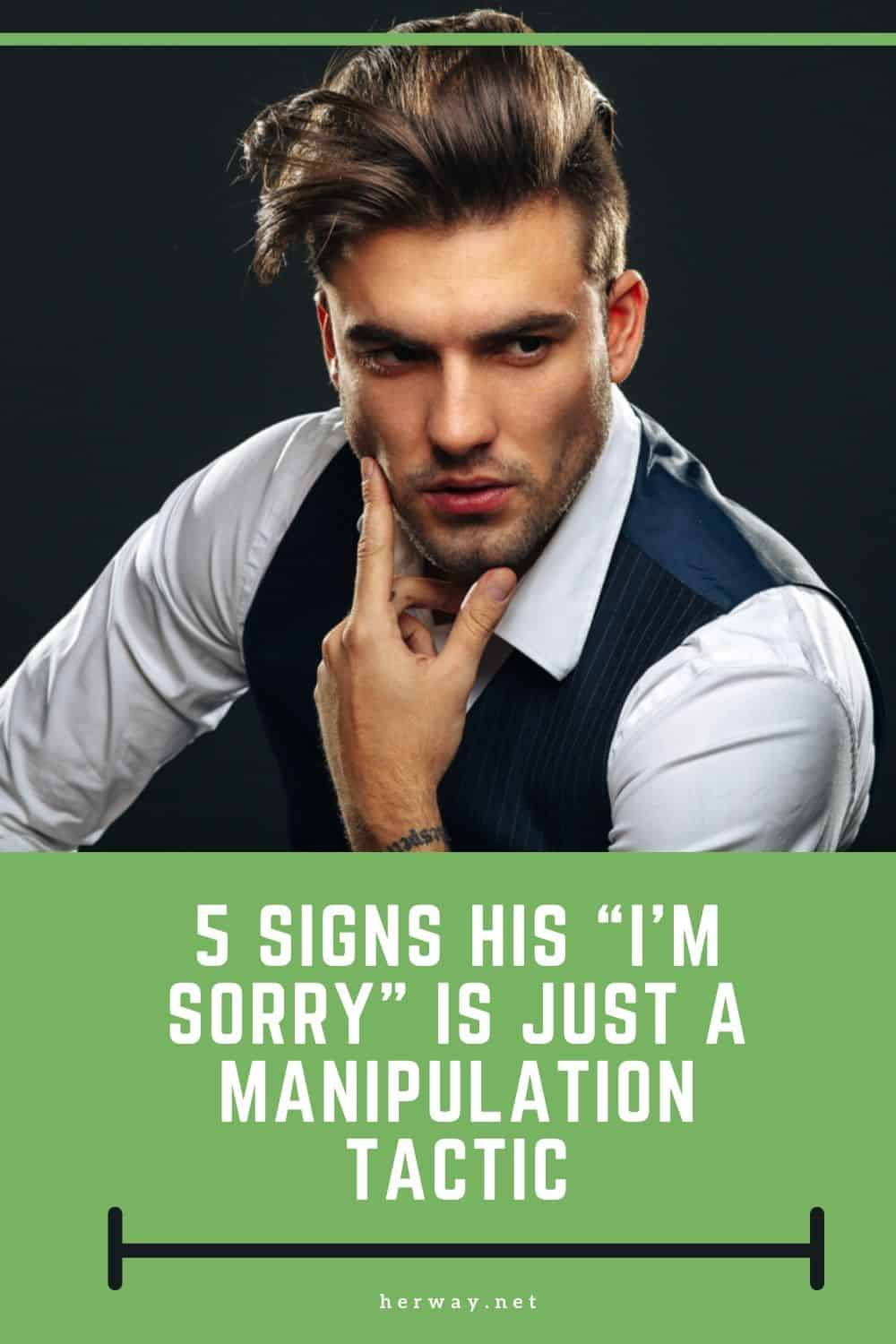 "5 Signs His ""I'm Sorry"" Is Just A Manipulation Tactic"