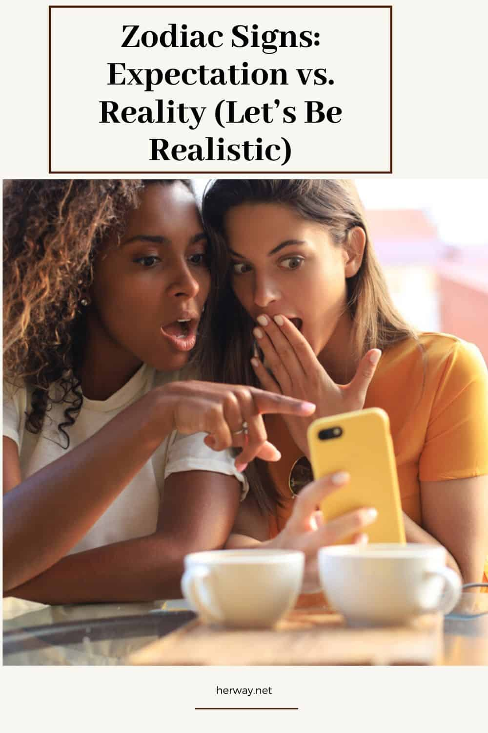 Zodiac Signs Expectation vs. Reality (Let's Be Realistic)