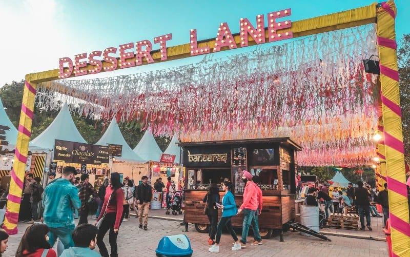 Dessert Lane food festival