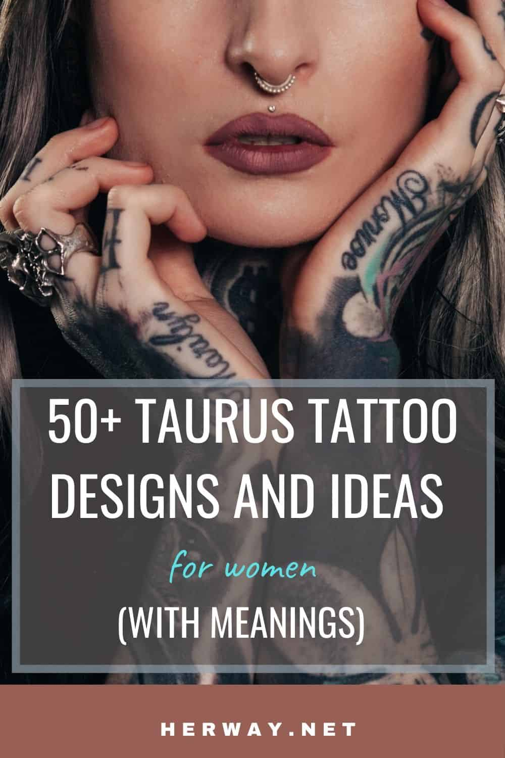 50+ Taurus Tattoo Designs And Ideas For Women (With Meanings) Pinterest