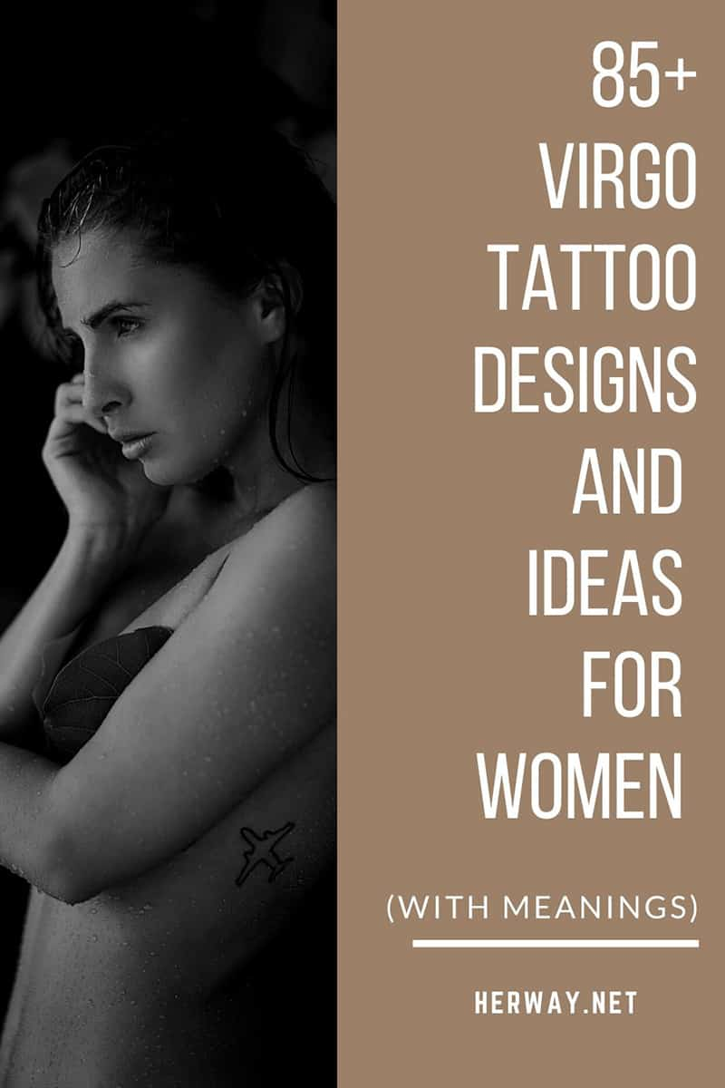 85+ Virgo Tattoo Designs And Ideas For Women (With Meanings)