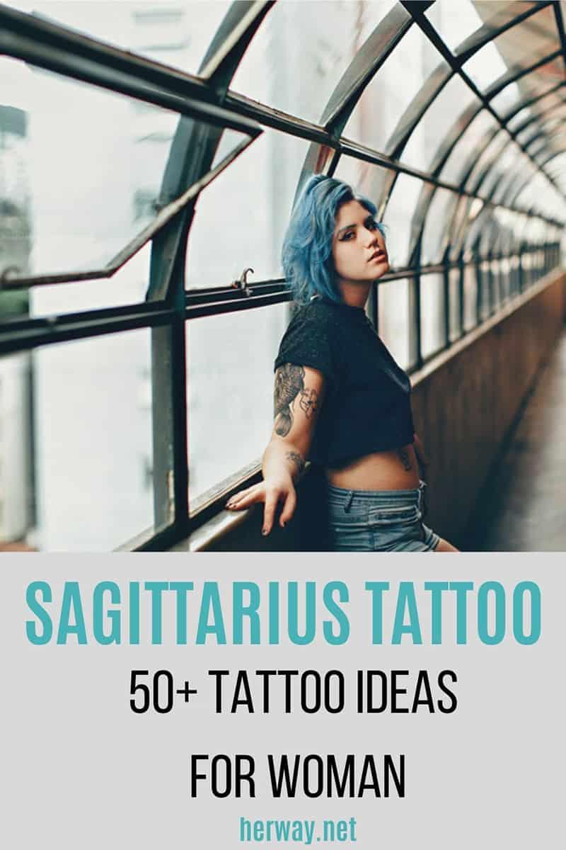 Sagittarius Tattoo: 50+ Tattoo Ideas For Women Pinterest