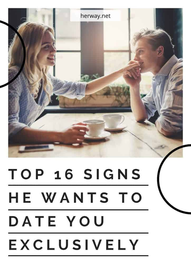 Top 16 Signs He Wants To Date You Exclusively