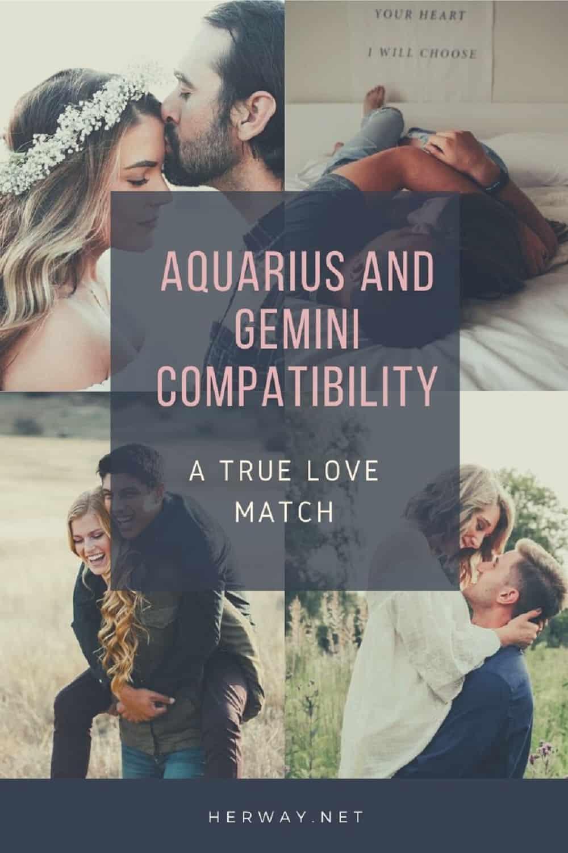 Aquarius And Gemini Compatibility: A True Love Match Pinterest