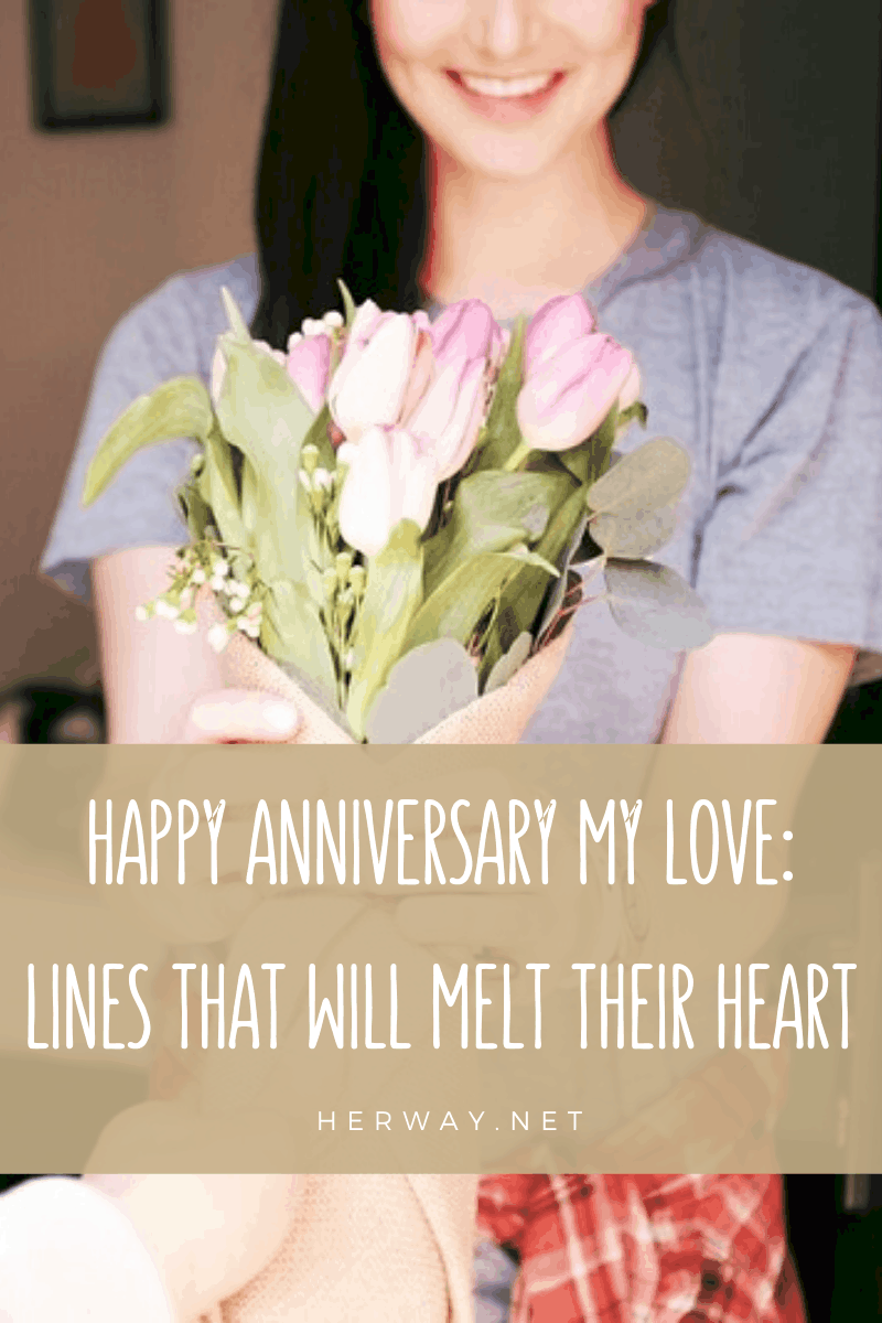 Happy Anniversary My Love: Lines That Will Melt Their Heart Pinterest Picture