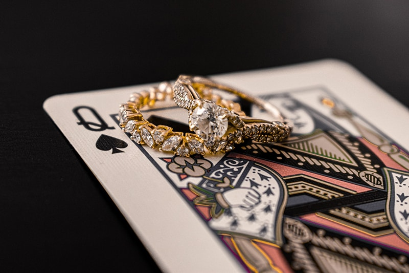 jack of diamonds on queen card